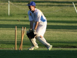 Keeping wickets? - Photo by David  Metheringham (Rupo photographer