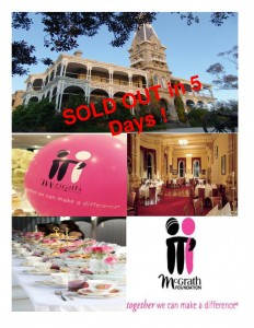 Pink Stumps Day Ladies High Tea at the Mansion